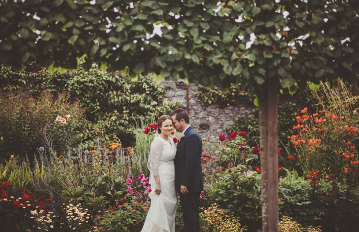 Samantha and Michael's homely castle wedding in Co Antrim
