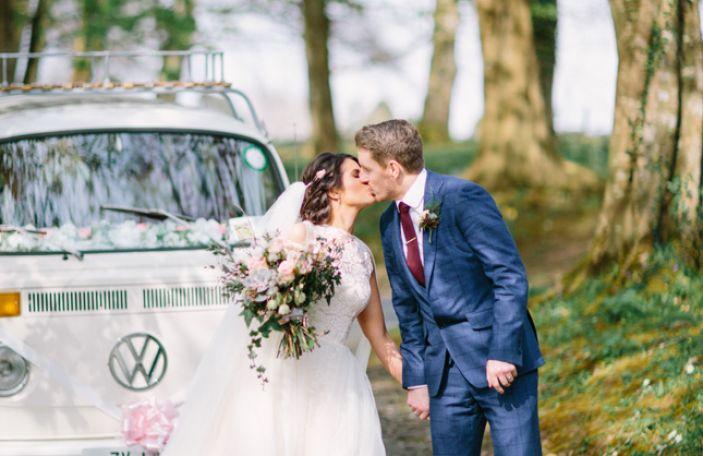 Gillian and Seamus' super stylish wedding at Kilshane House