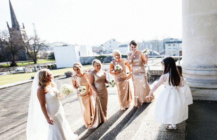 Real wedding at Farnham Estate, Co Cavan