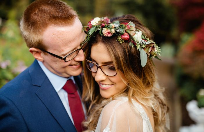 Leanne and John's relaxed, DIY wedding at Corick House Hotel