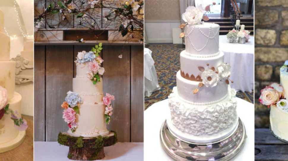 The Fab Four: Wedding Cakes Edition
