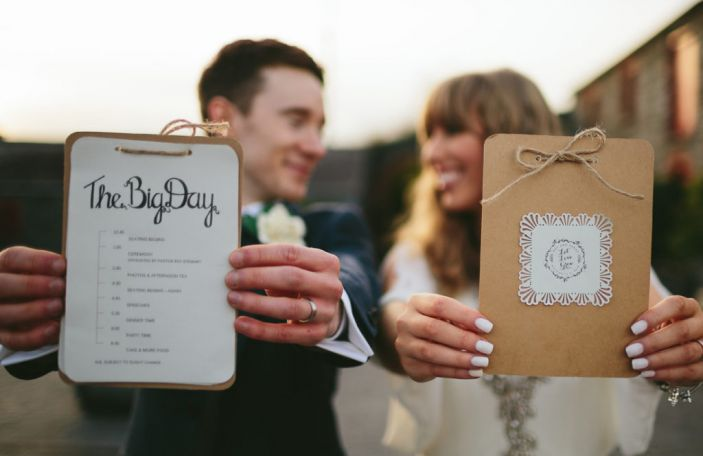 Sarah and Roy's DIY inspired wedding at Larchfield Estate