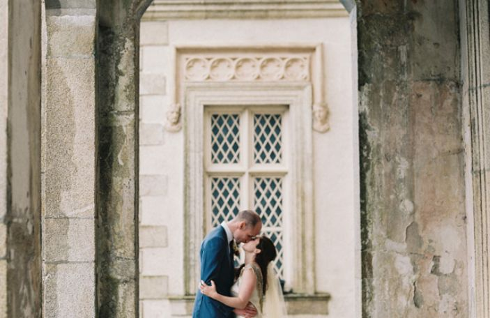 Emma and Peter's homely real wedding at Borris House
