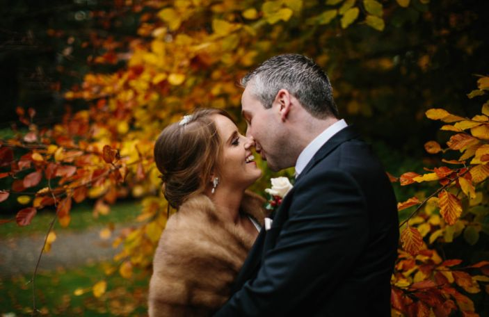 Sarah & Gearoid's relaxed, fun-filled wedding at Castle Durrow, Co Laois
