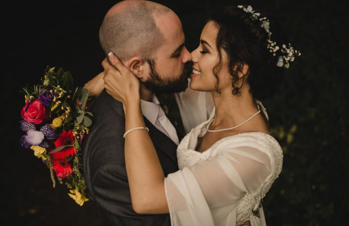 Chantal and Joe's real wedding at The Westwood Hotel, Co Galway