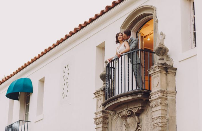 Mary and Ian's elegant wedding at the Muckenthaler Mansion