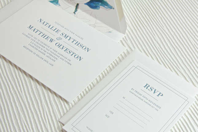 Letterpress Invitations To Make That Lasting Impression