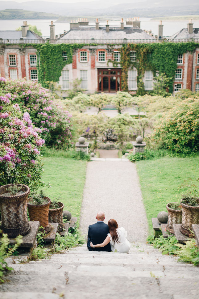 An Intimate Elopement At Bantry House Garden