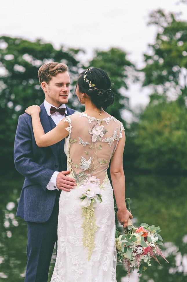 wedding dresses claire pettibone real brides confetti ie
