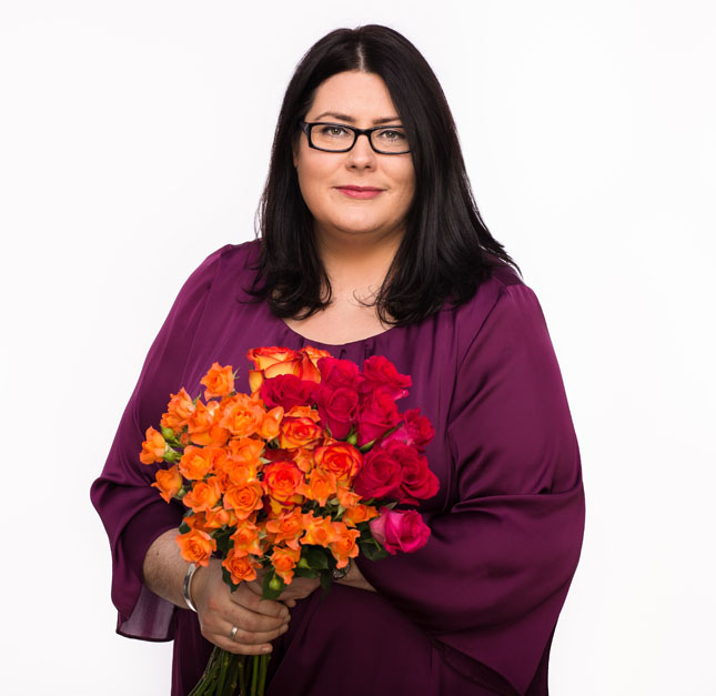 Bronagh Harte Ginkgo Florists by City Headshots Dublin