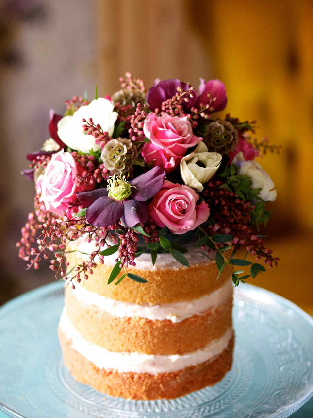 flowers on wedding cake safe flower power fresh flower cakes inspo confetti ie 14348