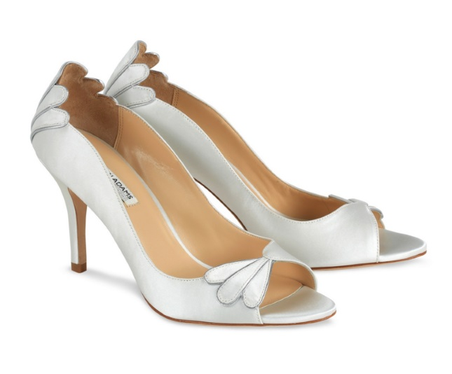 At The Higher End Of High Street Wedding Shoes Price Range Are These Beautiful Blue Grey Benjamin Adams Pumps From Debenhams