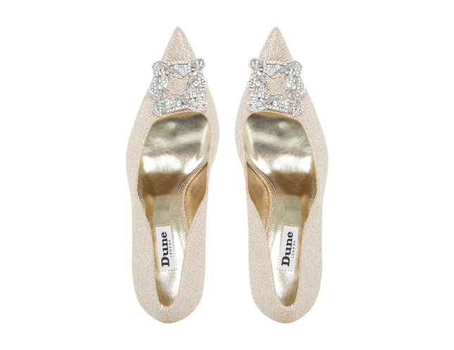 2d323428e20af 10 Affordable wedding shoes from the high street for brides on a ...