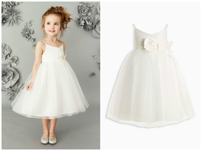 next ivory tulle dress