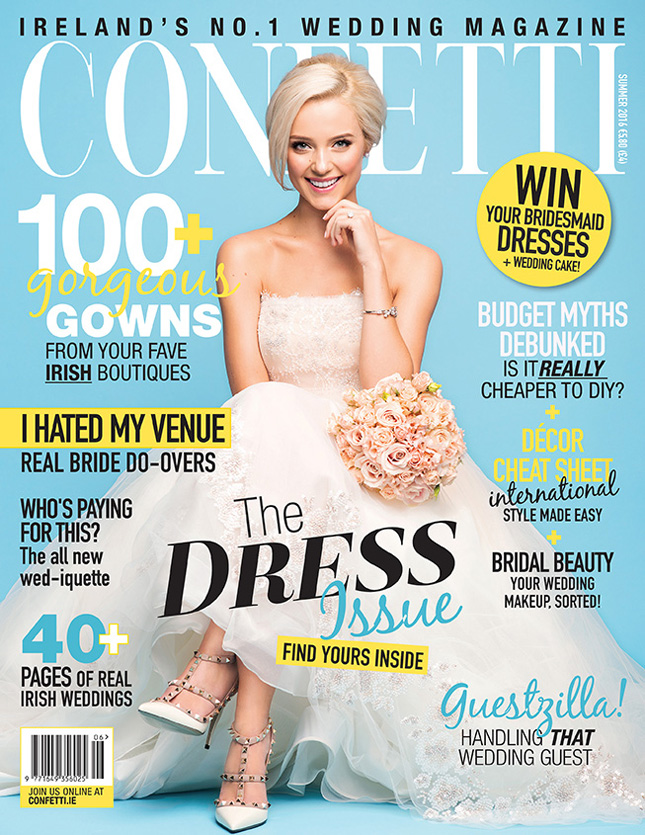 Why you need our irish wedding dresses special confetti cover junglespirit Choice Image