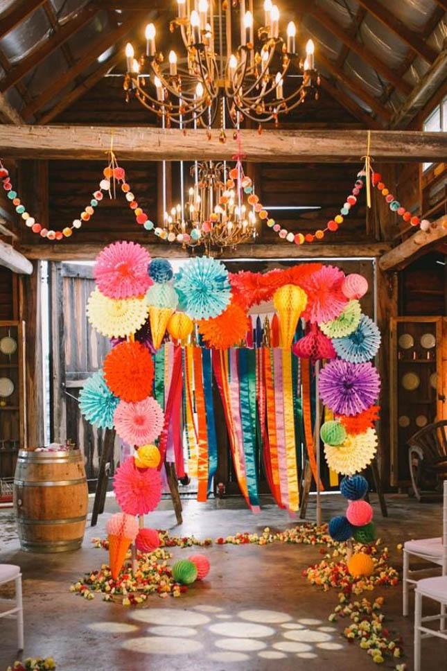 5 Beautiful And Easy Diy Wedding Backdrops Confetti Ie