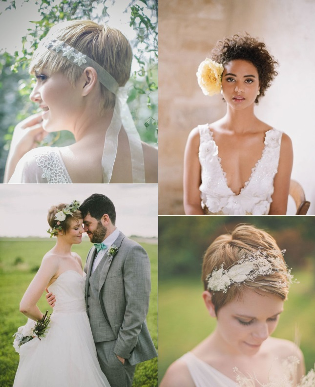 Pixie Hairstyles For Wedding: 9 Short Wedding Hairstyles For Brides With Short Hair