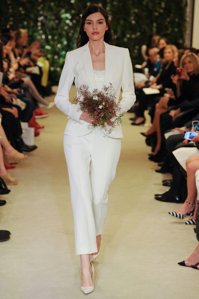 3c00bd87166e Image via  Carolina Herrera. This stunning cropped jumpsuit ...