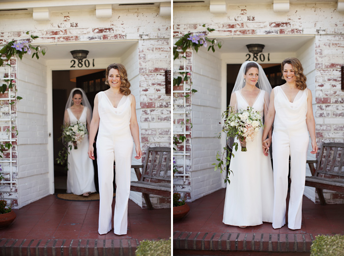 Alternative bridal fashion for 2017 jumpsuits for Lesbian wedding dresses and suits