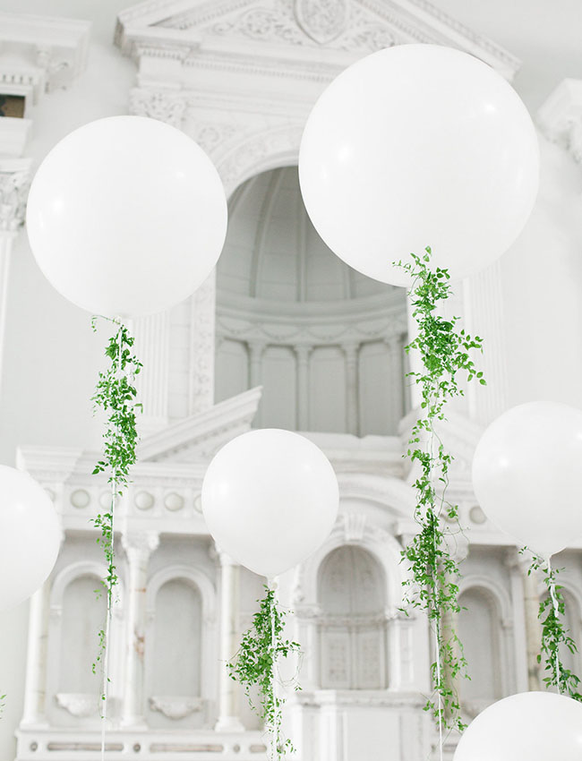balloons for wedding decorations 10 awesome and wedding balloon ideas confetti ie 1471