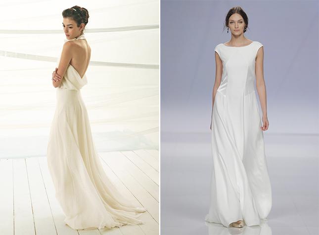 Trend Alert: Super Simple Wedding Dresses