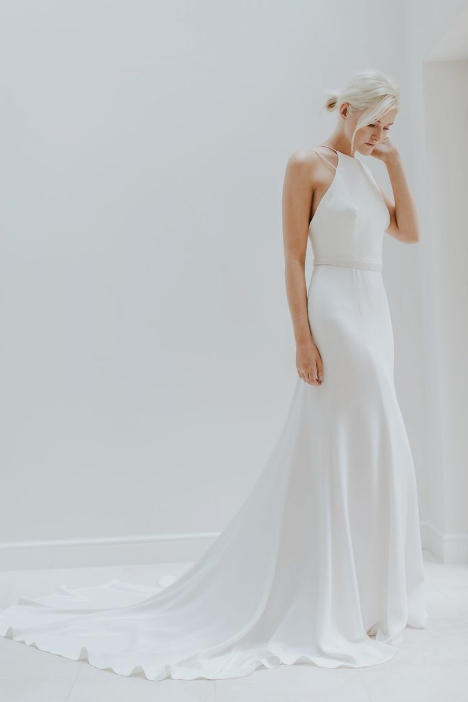 If Youu0027re Looking For Something Elegant And Different, A High Neck Wedding  Gown Will Be Right Up Your Street!