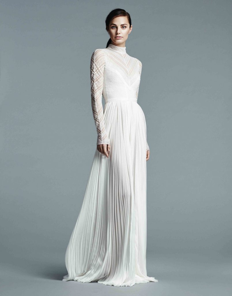 Wedding Dress Trends 2017: High Neck Gowns | Confetti.ie