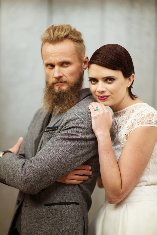 Petal and Twine wedding stylist planner Lewis Glucksman Gallery Cork wedding