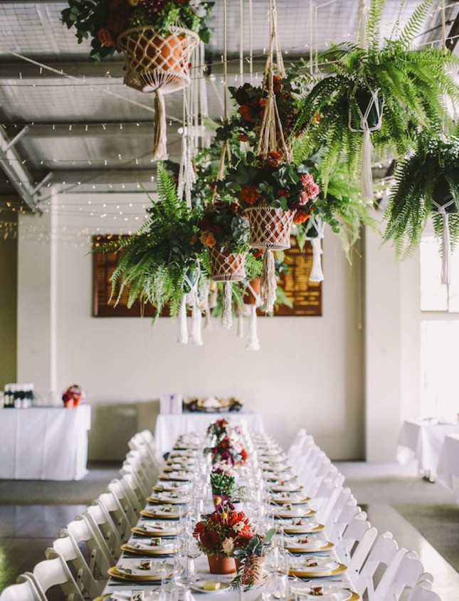 Potted plants one of the biggest wedding trends of 2017 confetti wedding trends potted plants junglespirit Gallery