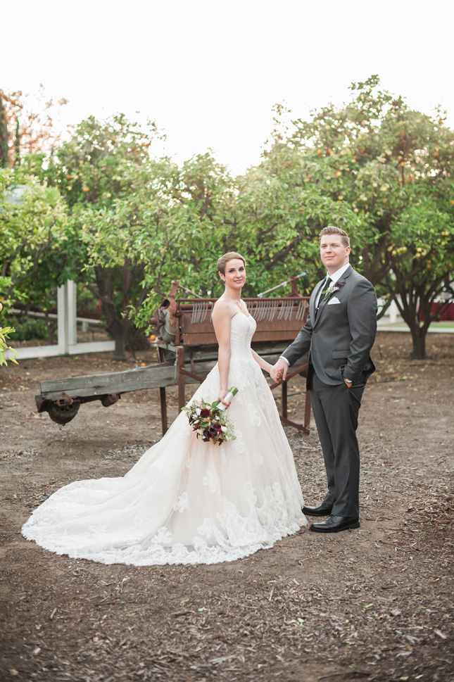 Heritage Museum california wedding intimate relaxed vintage