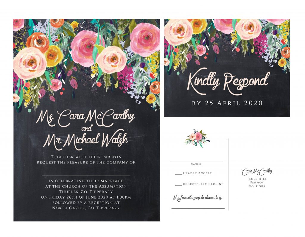 How soon is too soon to start designing your wedding invitations what are the benefits to prioritising getting wedding invitations designed early stopboris Gallery