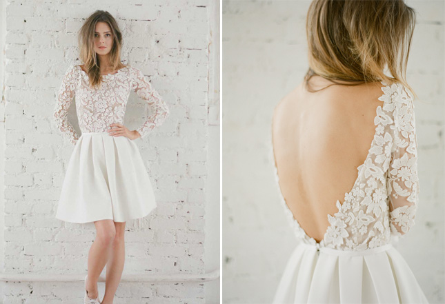 Short Wedding Dresses For The More Relaxed Bride Confettiie - Relaxed Wedding Dresses