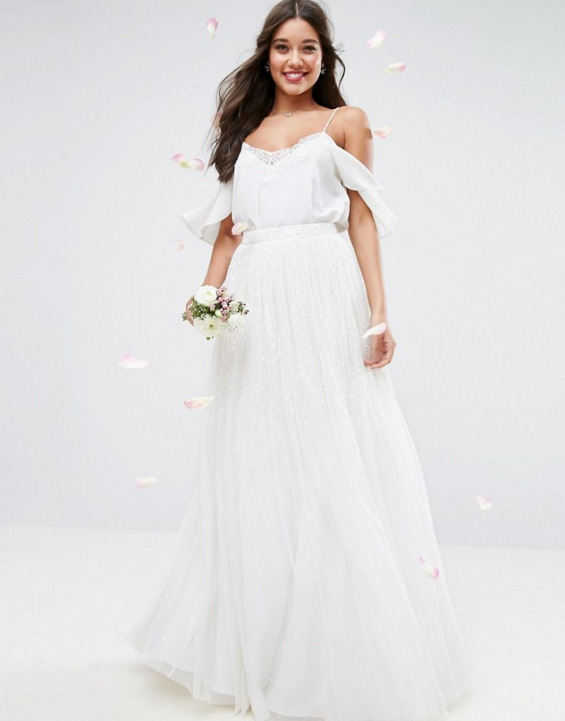 9 gorgeous affordable wedding dresses from asos for the for Asos vintage wedding dresses