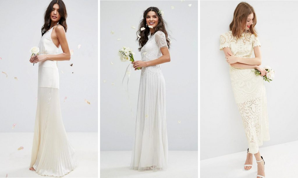 9 Gorgeous Affordable Wedding Dresses From ASOS For The