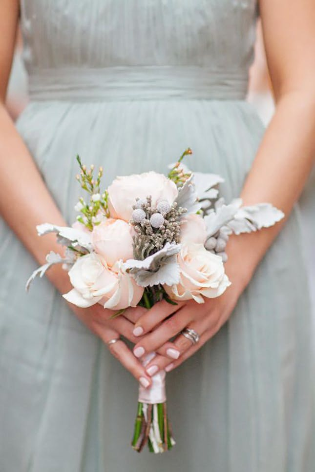 posy floral bridal bouquet