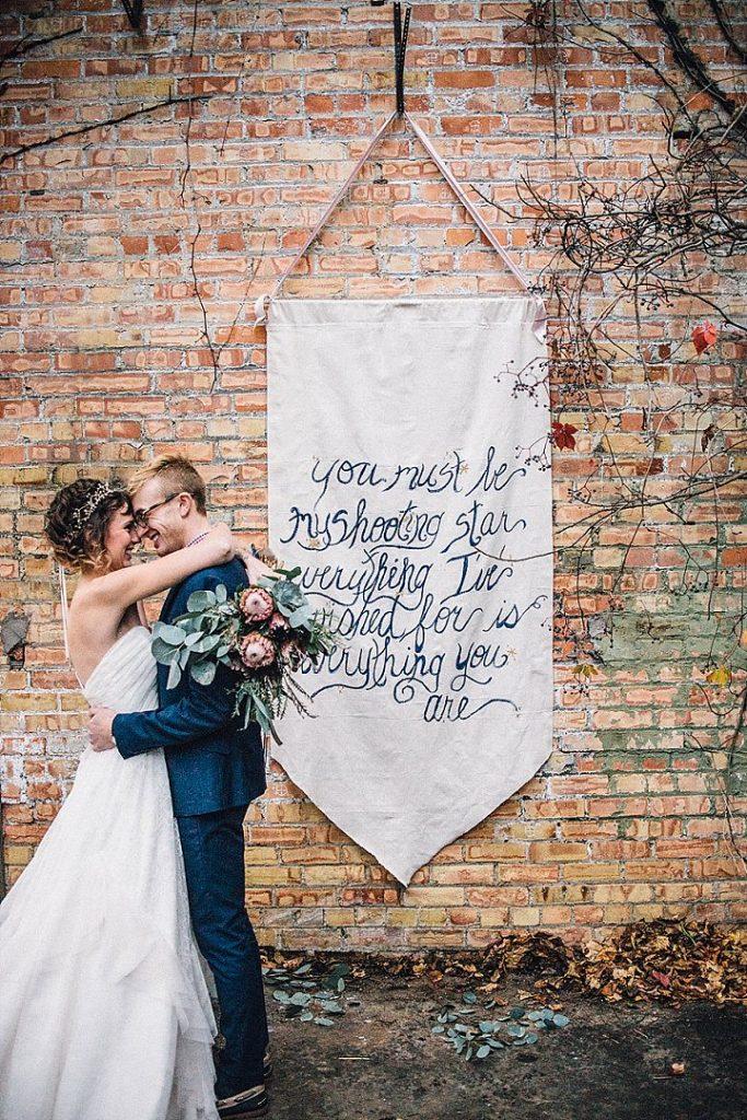 celestial wedding décor
