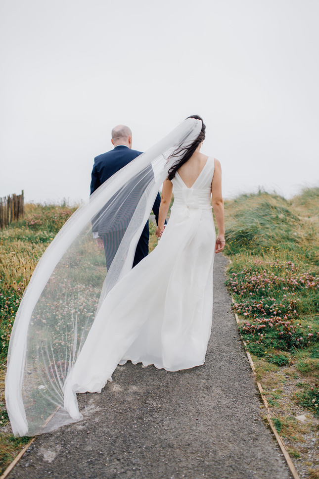 Marian & James's family-filled wedding at Inchydoney Island