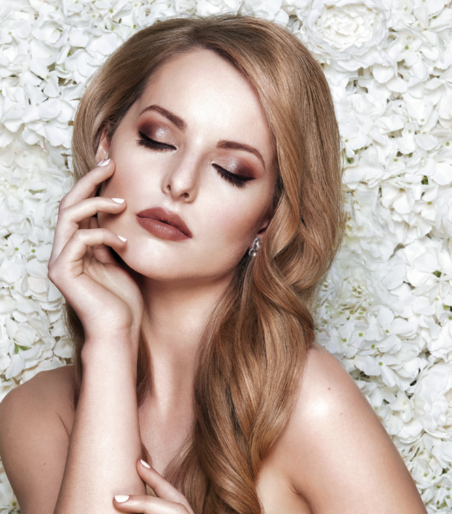 eb790358134c We got together with some of the country s best hair and makeup artists to  create a stunning beauty inspiration shoot