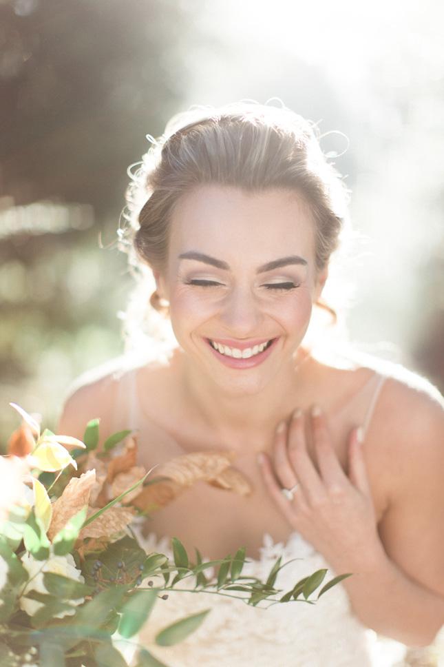 your wedding makeup