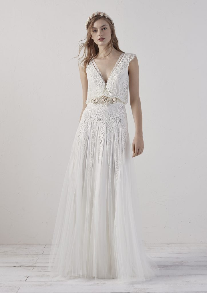 6ceff37d405 The new preview 2019 collections from Pronovias