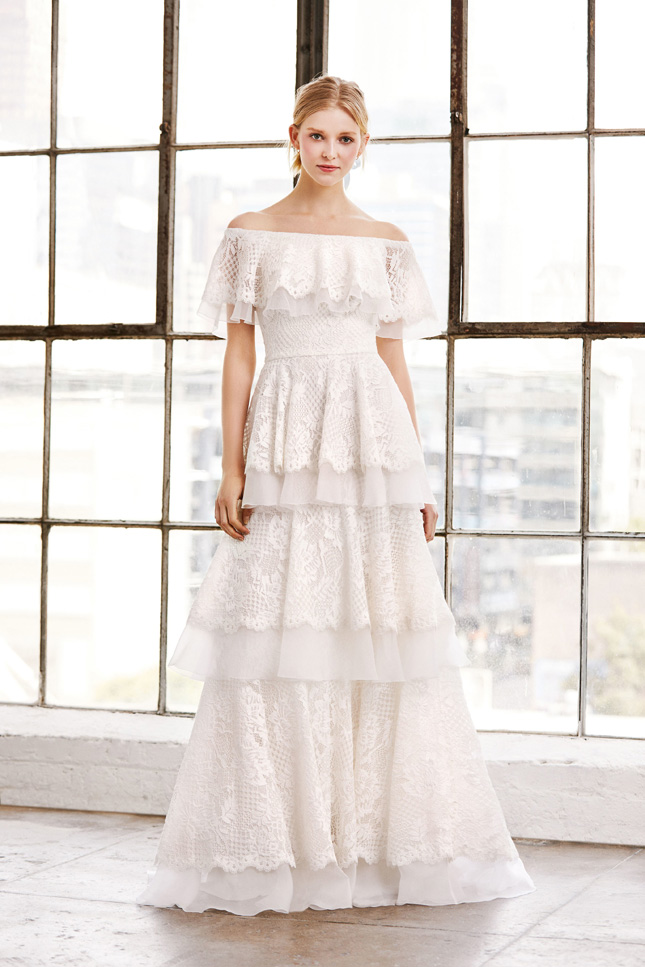 b091eda6b0bbc Five Wedding Dress Trends We're Loving Right Now | Confetti.ie