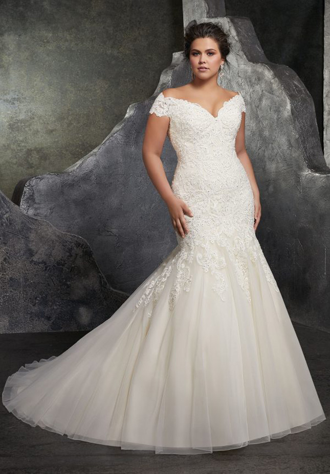 Plus size wedding dresses - the bridal boutiques to shop in, in