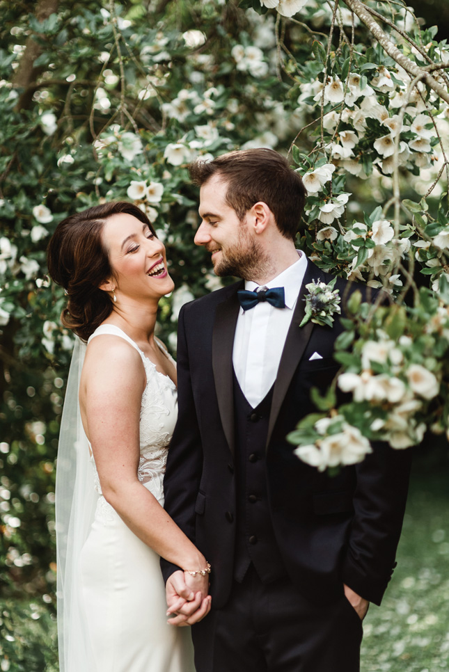 floral-filled wedding