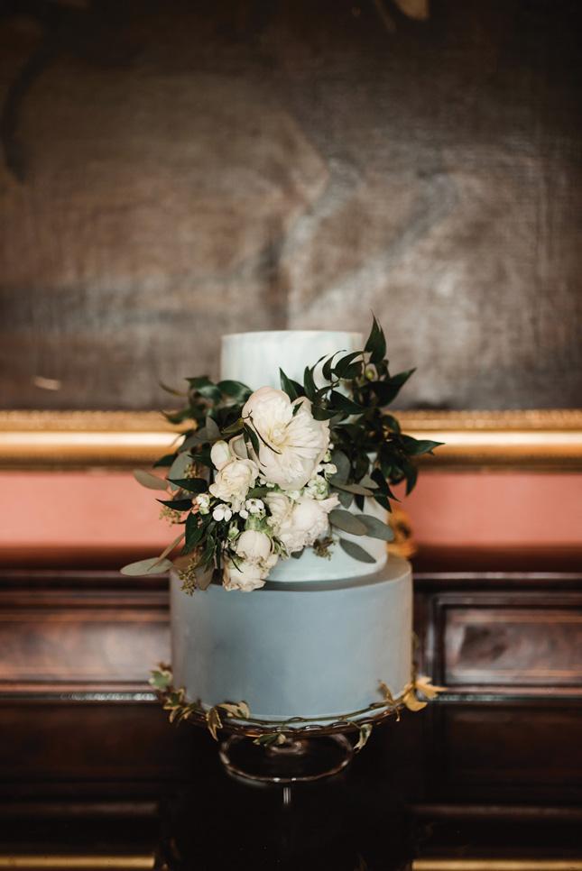 floral-filled wedding