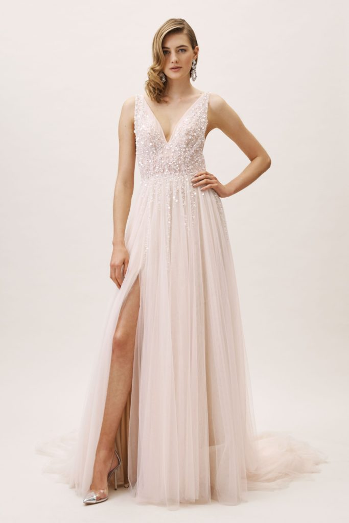 sexy wedding dresses alternative pink