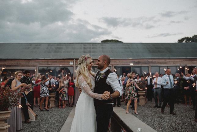 Cliona and Mehmet's barn wedding at Burtown House by Antonija Nekic