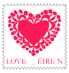 love stamps an post ireland