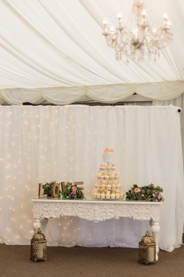 Clonabreany House wedding dessert table