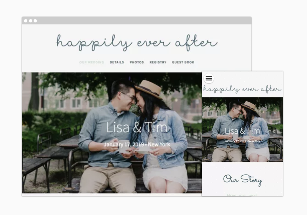 wedding website builder the knot free