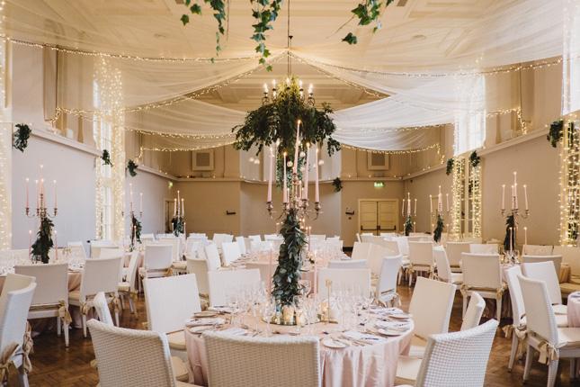 blush toned Irish summer wedding